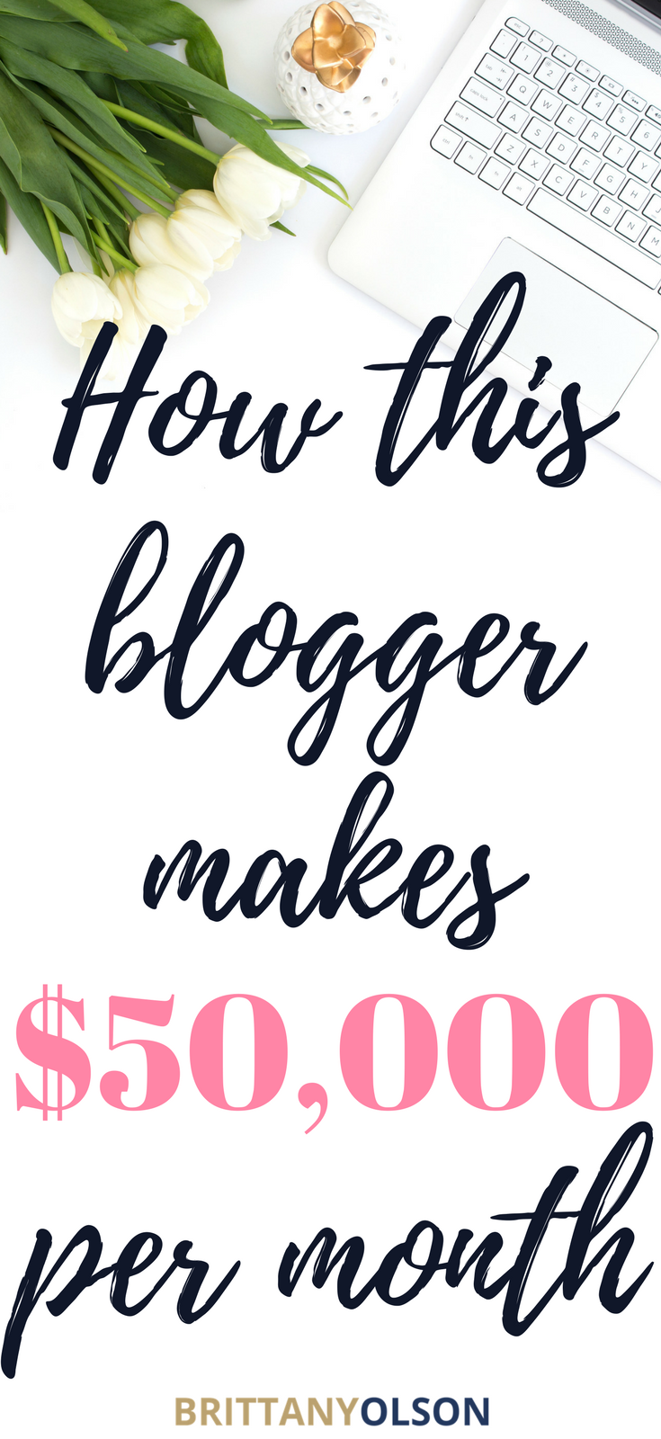 how to make $50,000 per month blogging
