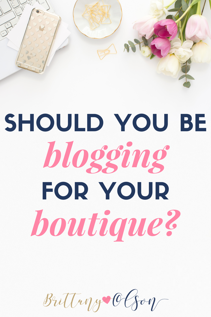 Drive more traffic to your online boutique by writing blog posts