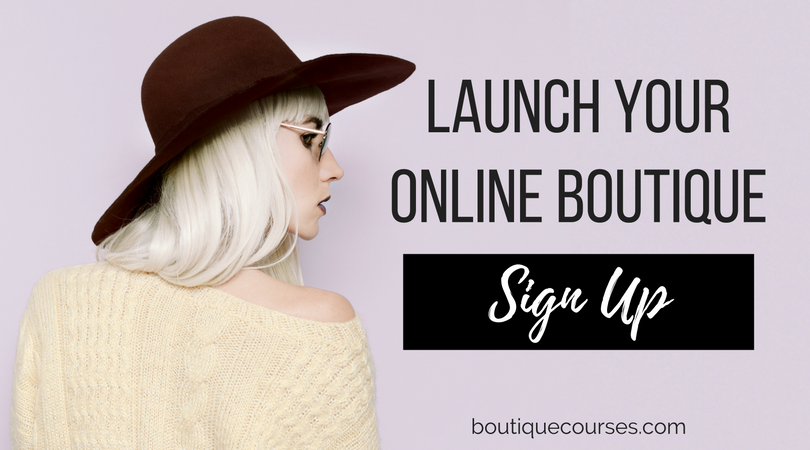 Course for starting an online boutique