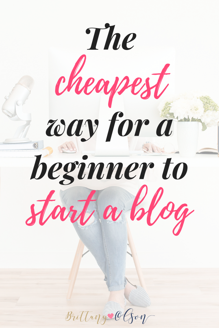 How to start a blog cheap. The easy affordable way to start blogging.