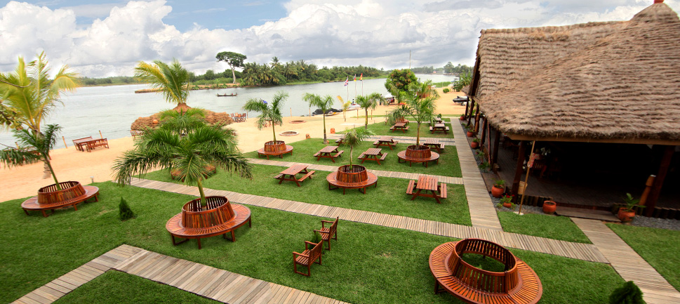 Aqua Safari Resort, located in Ada. Photo Credit: Aqua Safari Resort