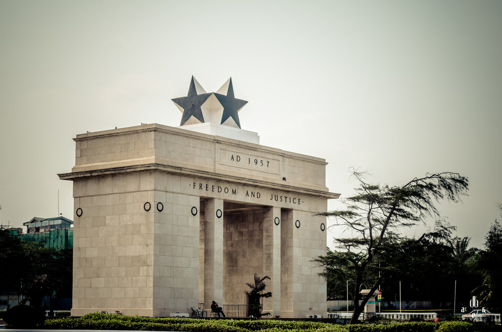 Independence Square in Ghana. Photo credit: Reginauld Addae (via Shots of Dope)