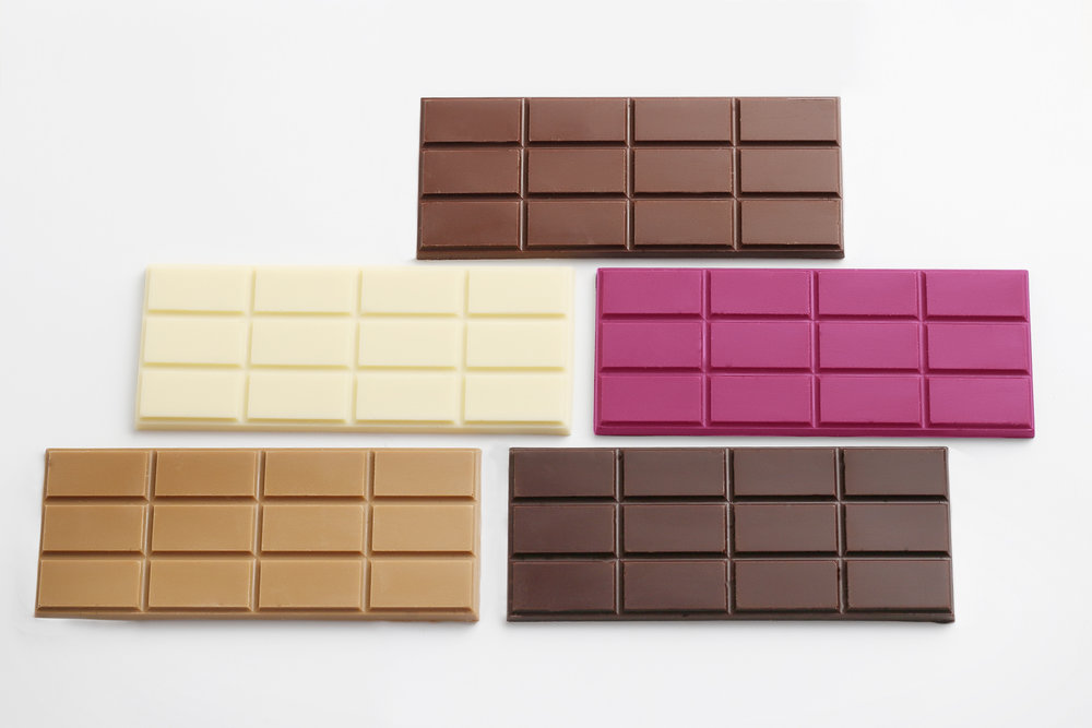 50 gram chocolate bars