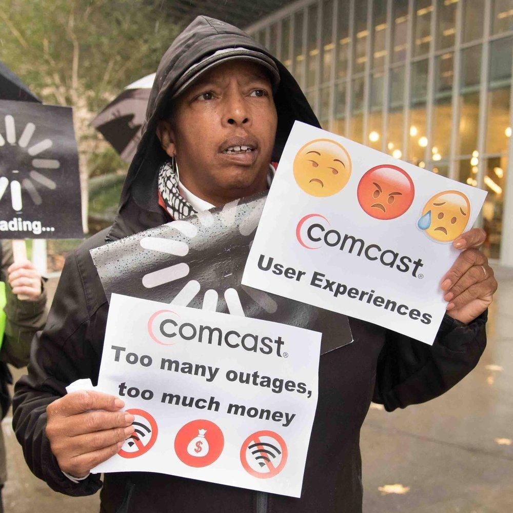 Karen Anti Comcast Signs.jpg