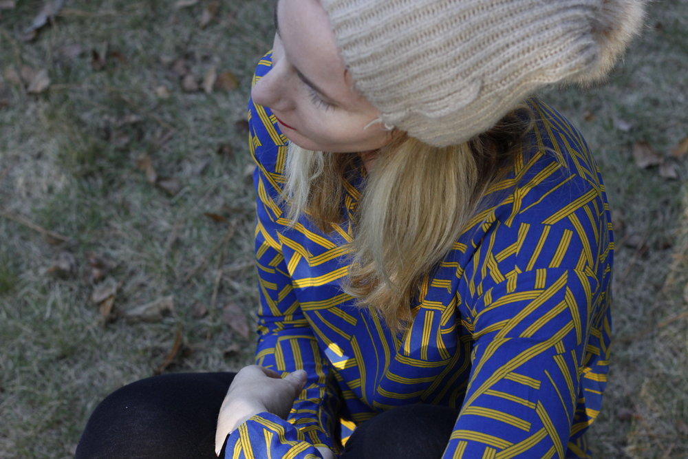 Top United Benetton // Hat Zara // Leggings Forever21 //