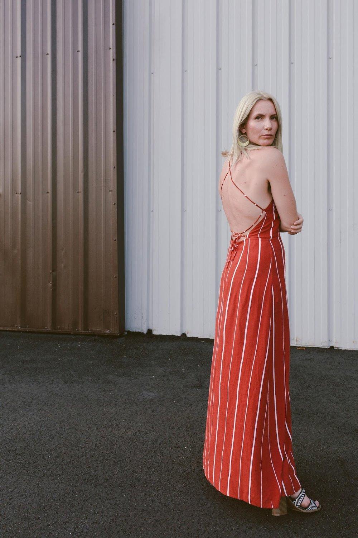 Daily Look Summer stripe dress