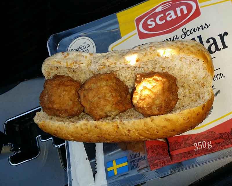 "Stadig lunch ""Albin special"""