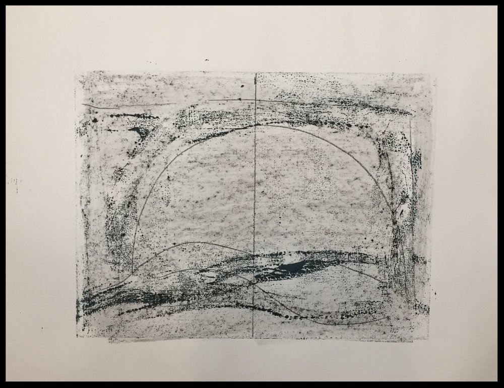 Untitled Drawing, (notes for paintings), 2018