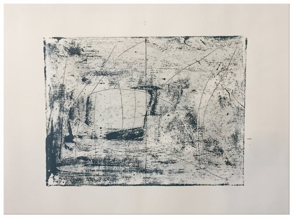 Untitled Drawing,(notes for paintings), 2018