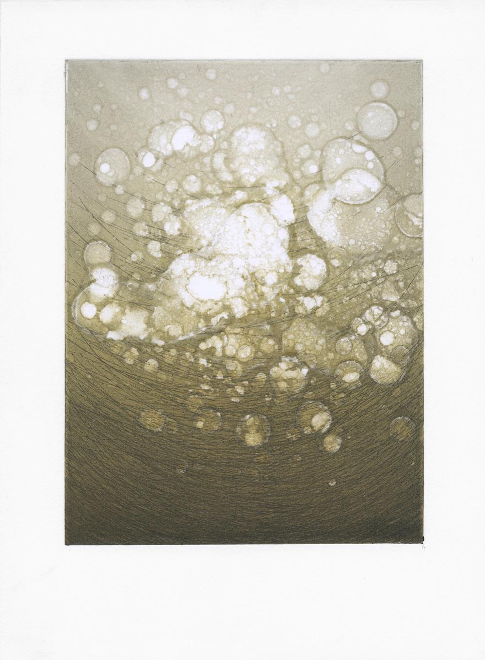 Untitled (gold wash)