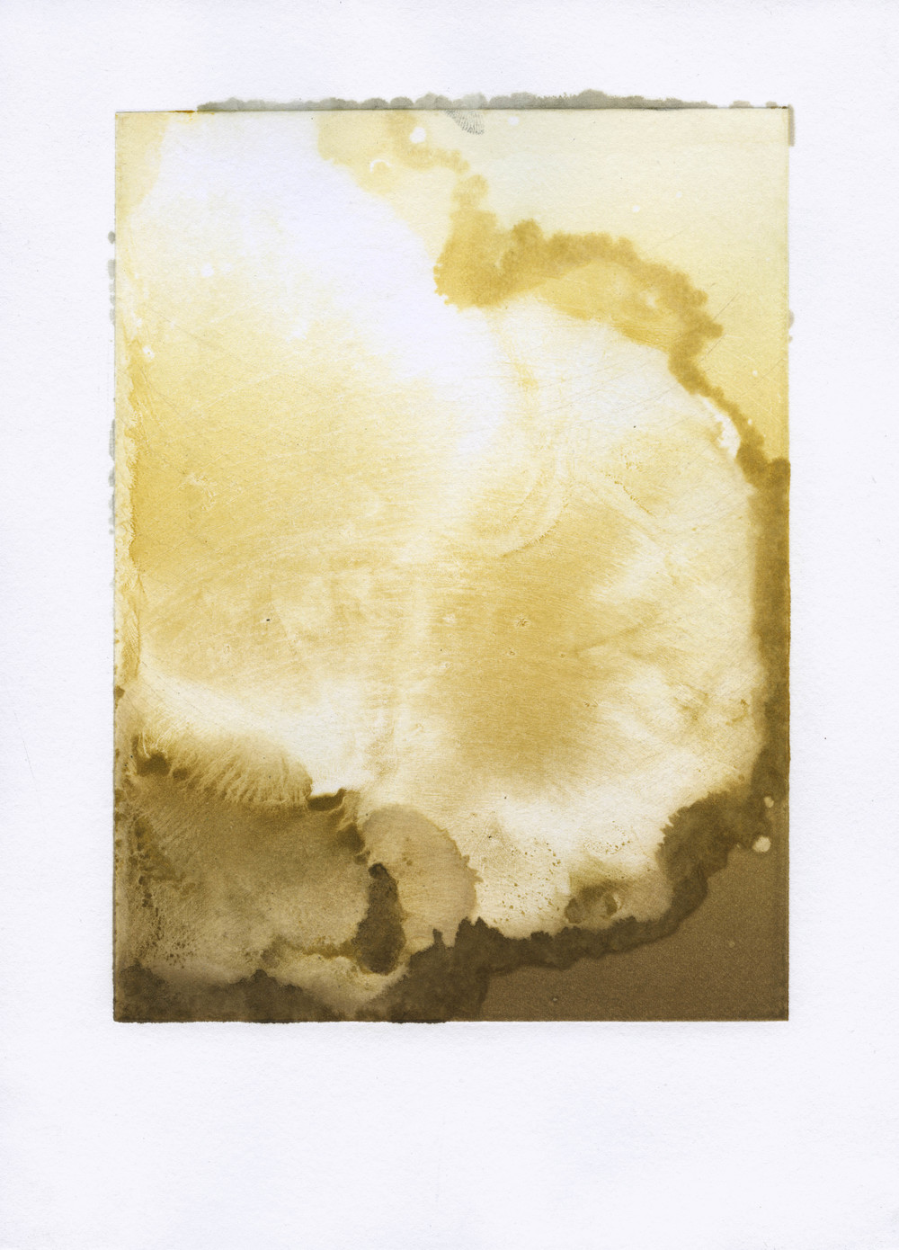 Untitled (gold blowout)