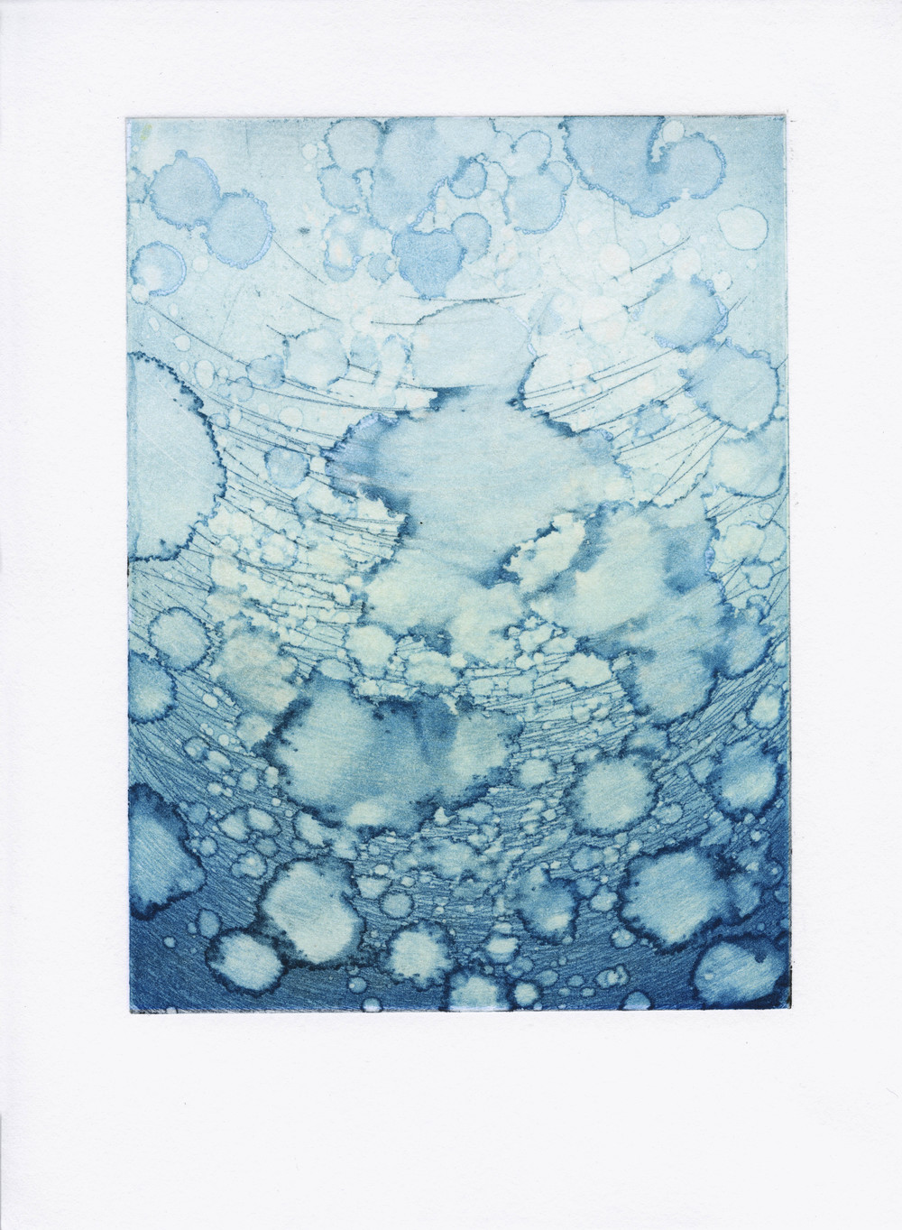 Untitled (blue drops)