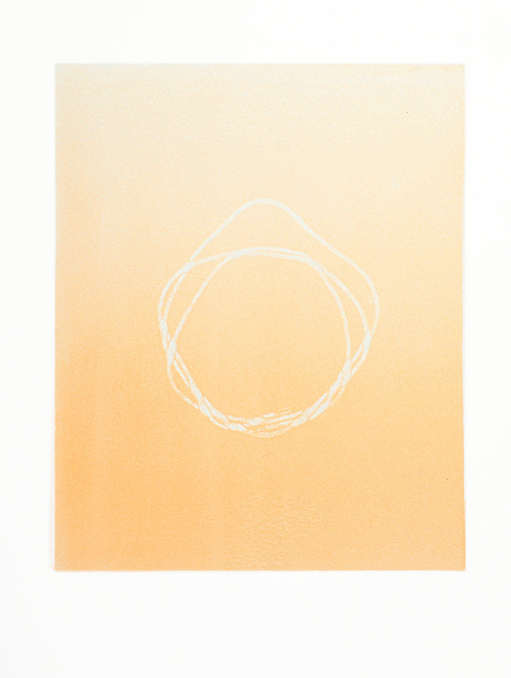 Untitled (yellow 1, from Overlap series)