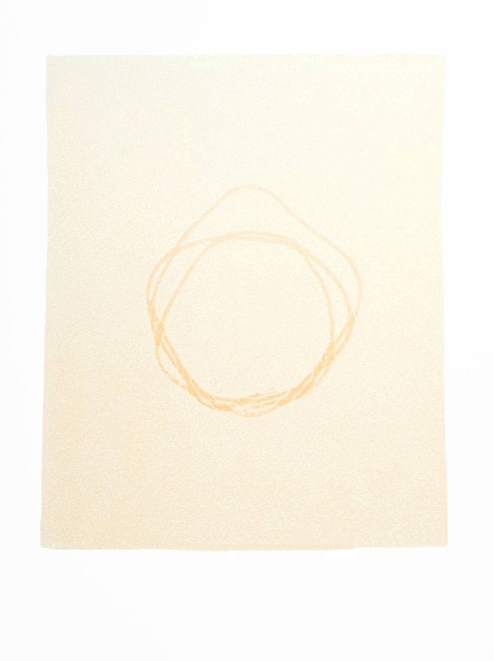 Untitled (yellow 2, from Overlap series)