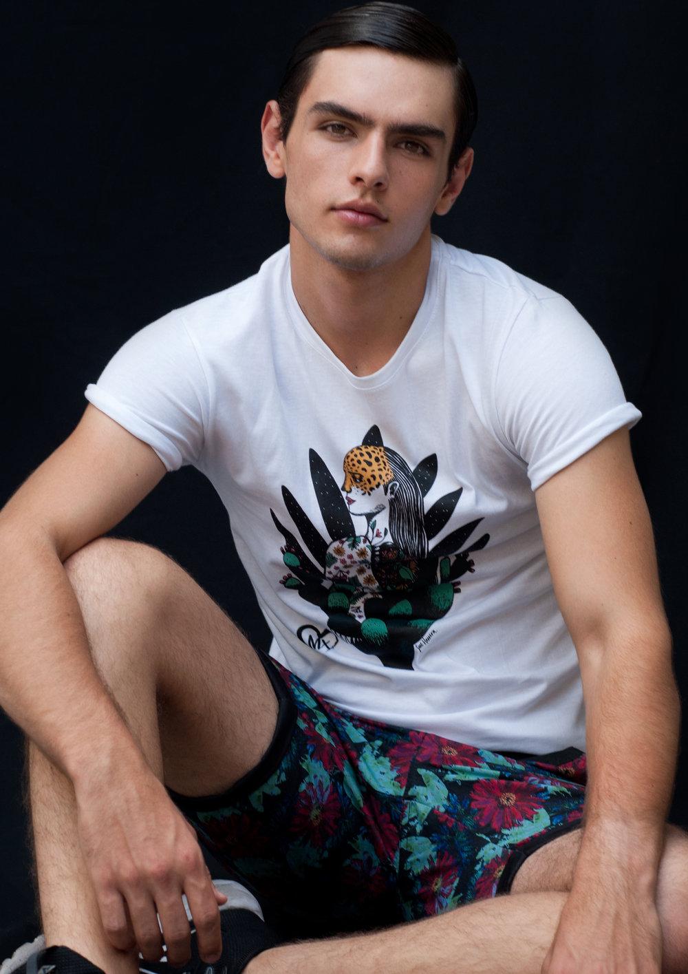 t-shirt   LOB ,  shorts   COAST TO COAST