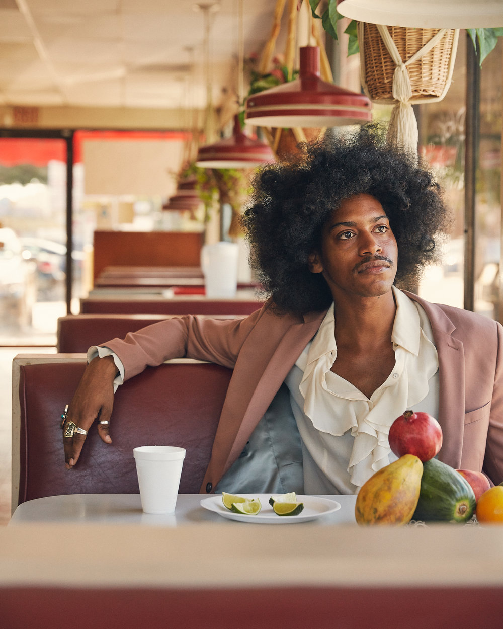 Fruits Vernon - photography Ross Martinstyling Jacob X Jordanmodel Vernon Bobby#StarkMag