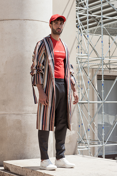 Andrew Coimbra, Patrick Lacsina, Fashion Designer, Paris Fashion Week, Spring, Summer, 2018