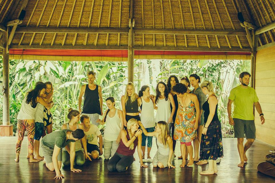 My Embodied Flow Family, Bali 2015
