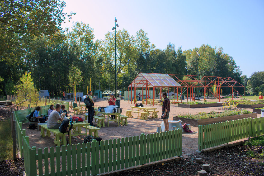 Some conference tours also visited fantastic local parks, like this one in Malmö, Sweden.