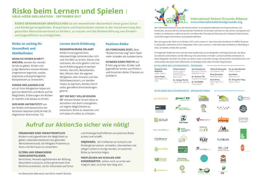 Click here to download the declaration in German / Deutsch..