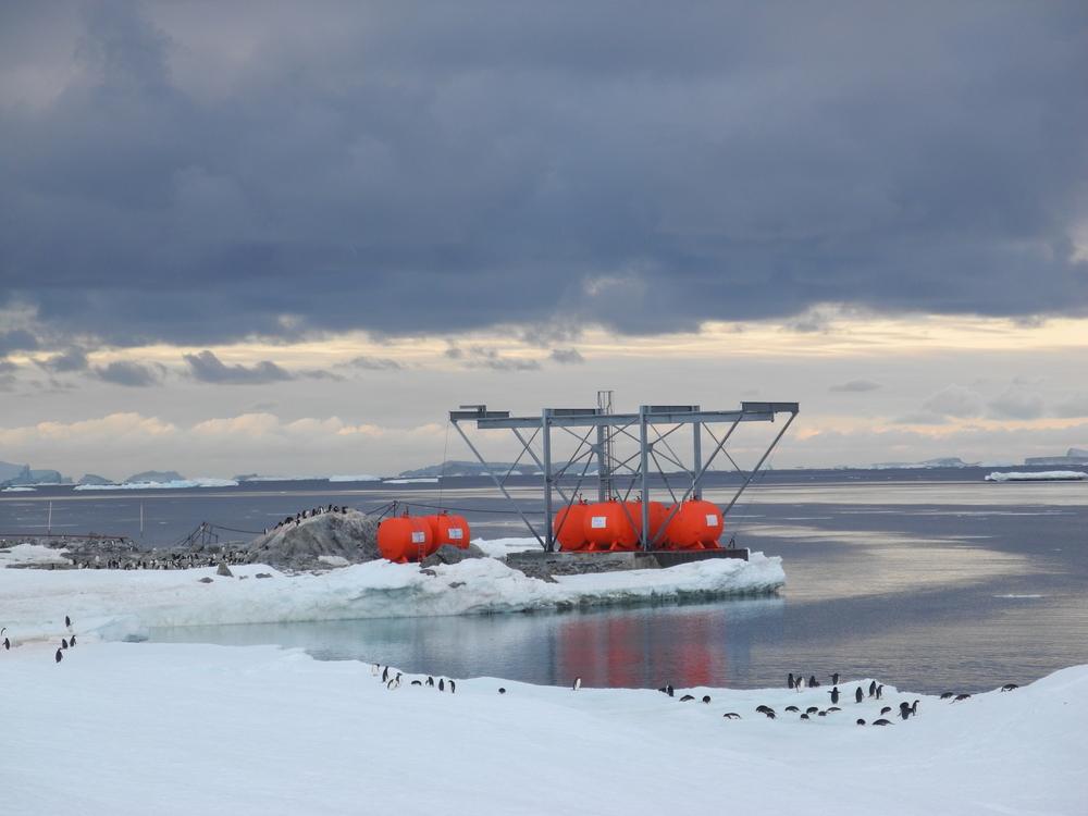 Antarctic logistics and engineering