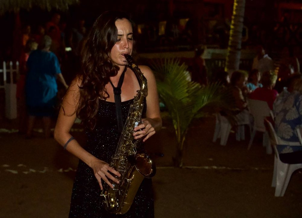 Papalotes Puerto Escondido Jazz Night 2018 Sax
