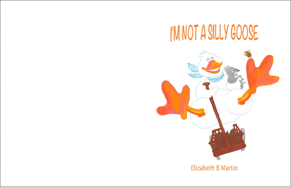 Elizabeth Martin Silly Goose Title Page