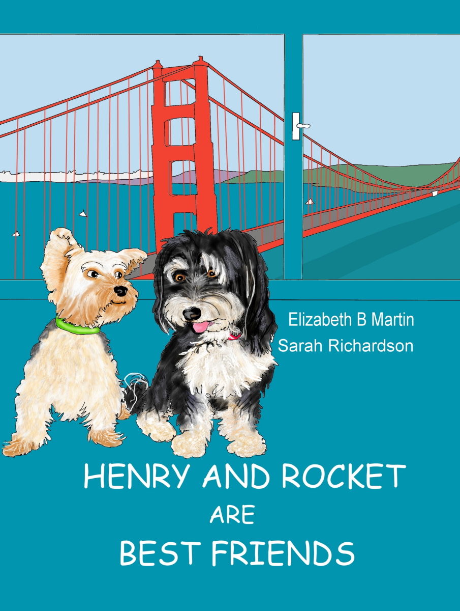Elizabeth Martin Henry and Rocket Are Best Friends Cover