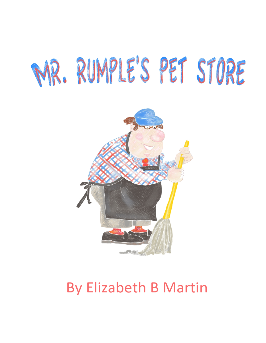 Elizabeth Martin Mr Rumple's Pet Store Title Page