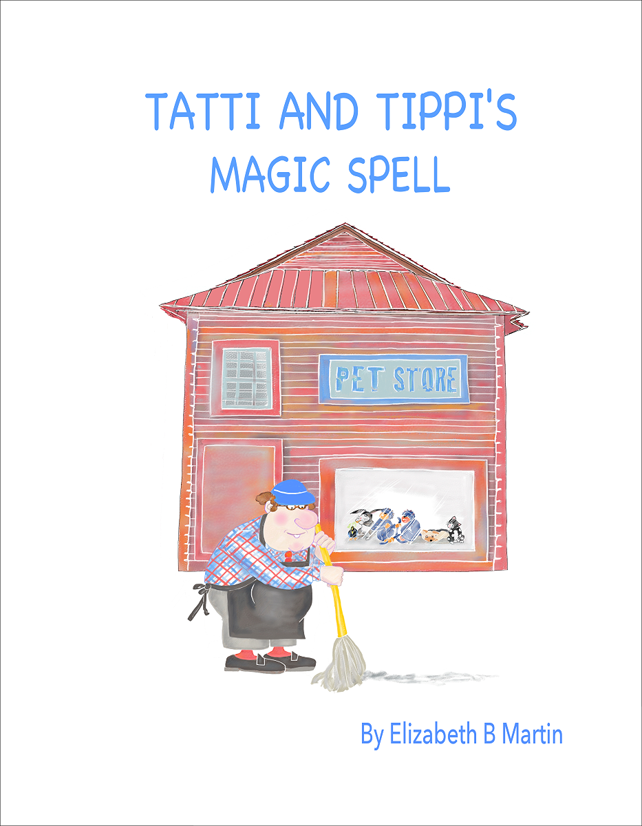 Elizabeth Martin Tatti and Tippi Title Page
