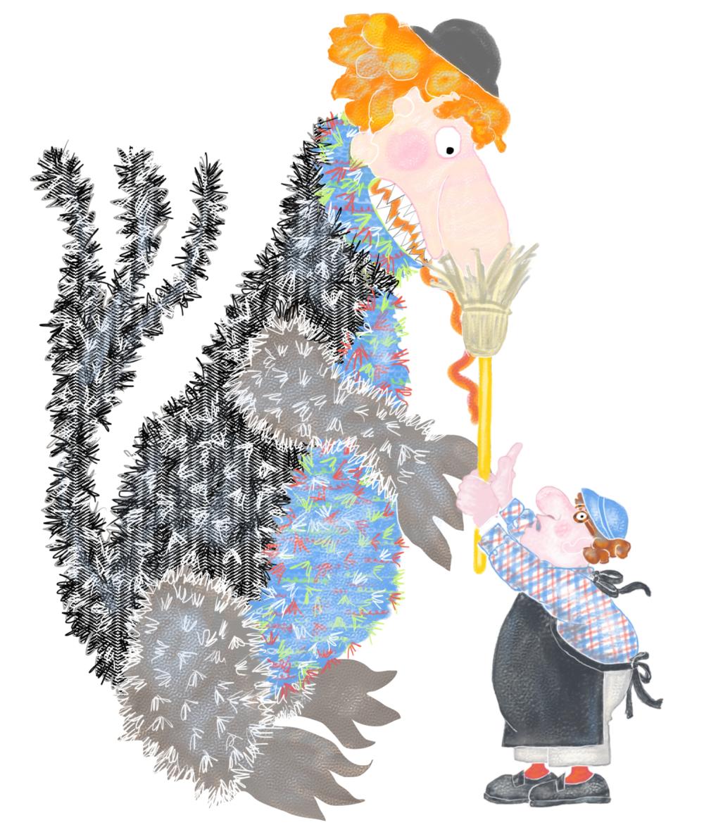 Mr. Rumple's Pet Store, Illustration by Elizabeth B Martin