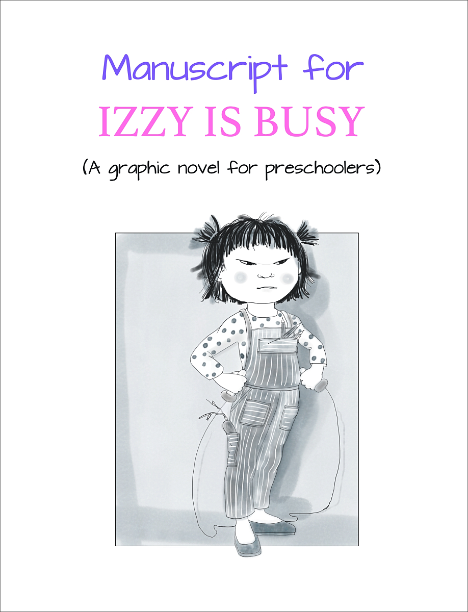Izzy Is Busy Cover