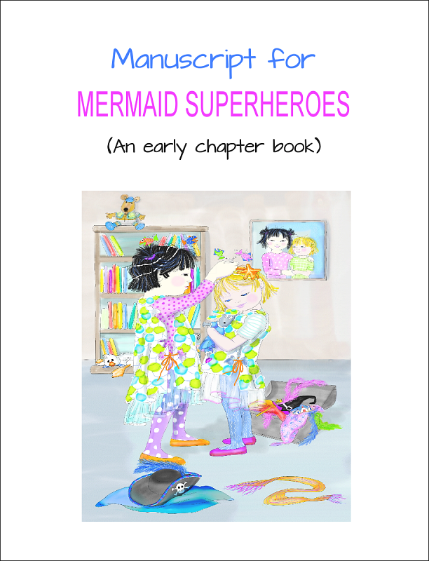 Mermaid Superheroes Cover
