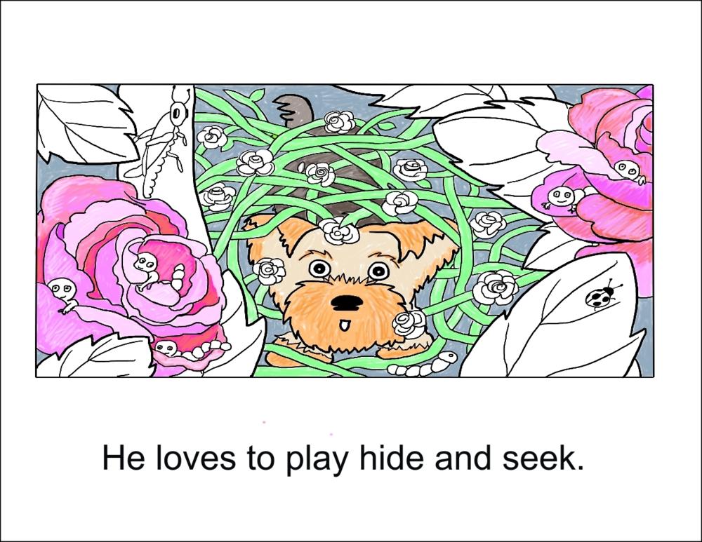 My Dog Henry Color Story, Pg. 4