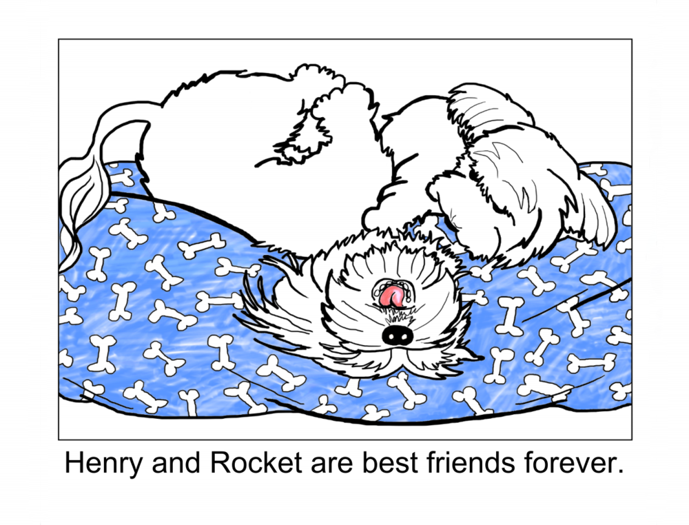 Henry and Rocket, Page 6