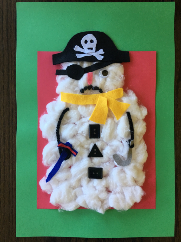 Copy of Pirate Snowman