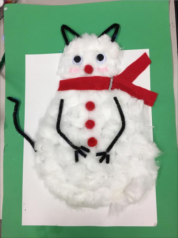 Copy of Cat Snowman