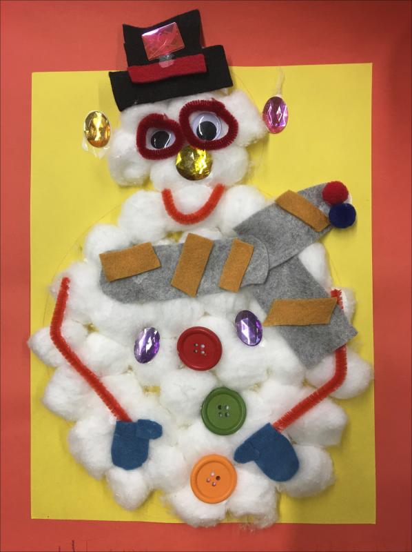 Goggles Snowman
