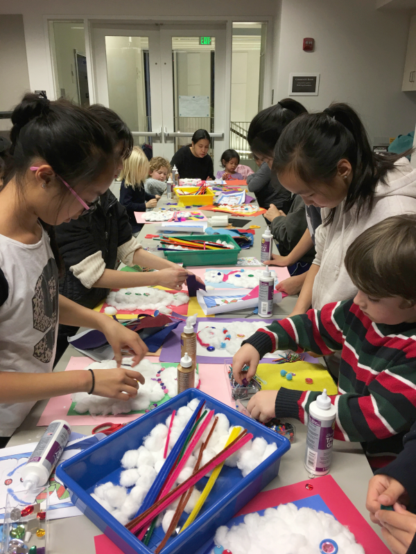 SF Public Library Crafts Children