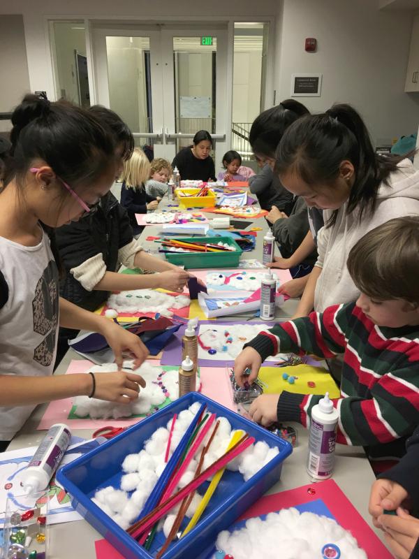 SF Public Library Crafts Children