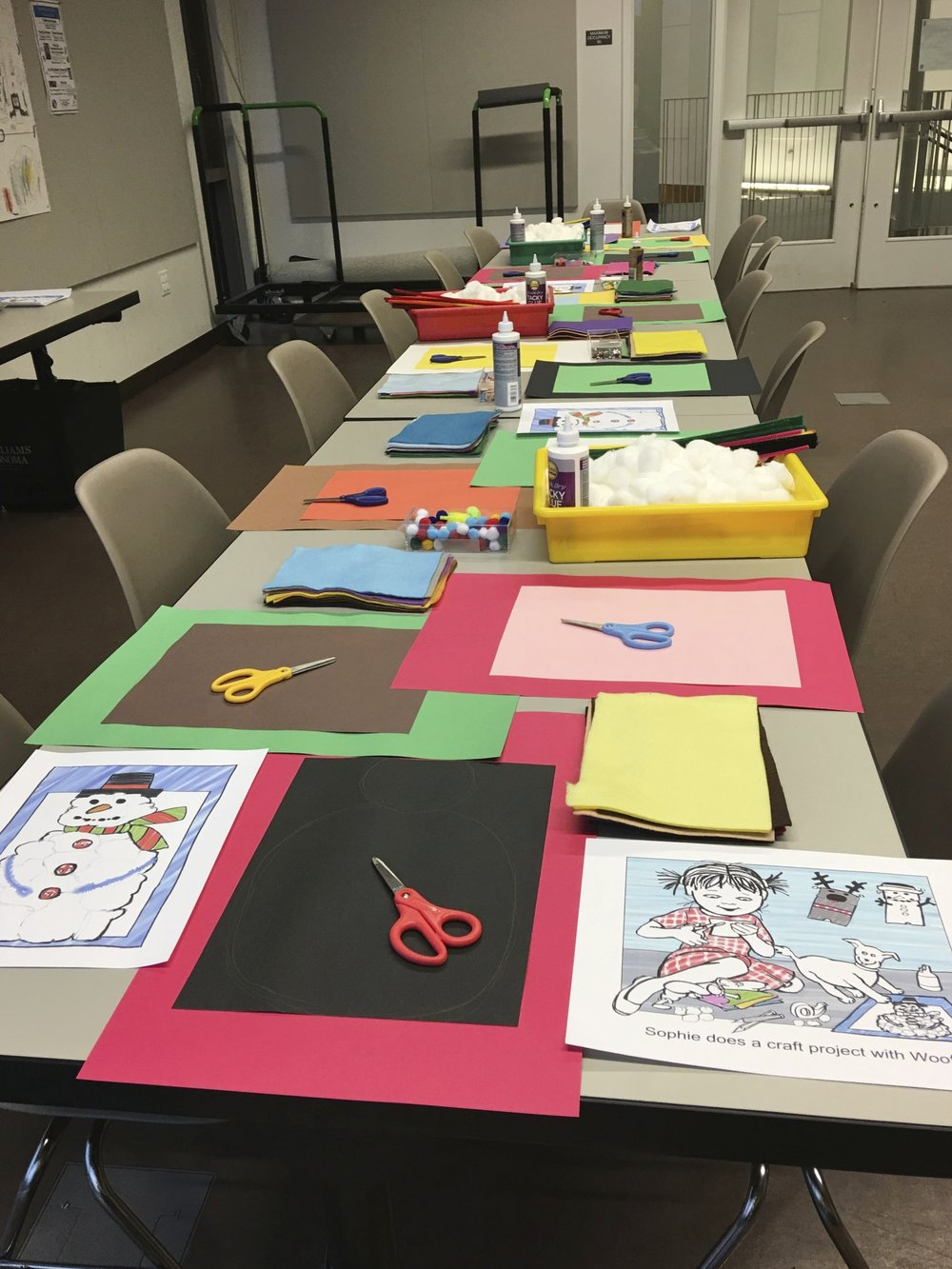 Art and Craft Event Elizabeth Martin
