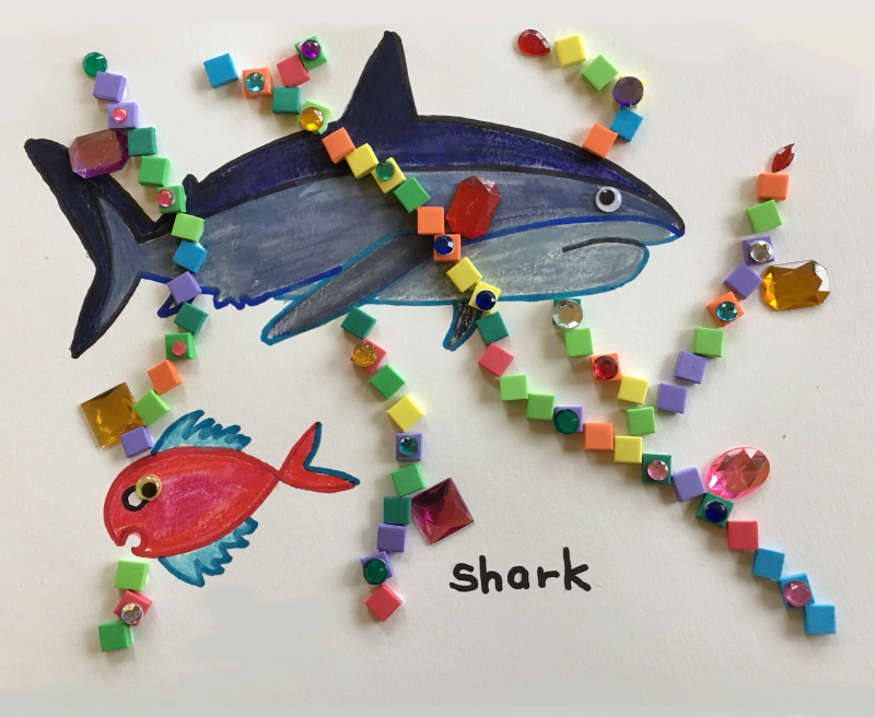 Shark Art and Craft