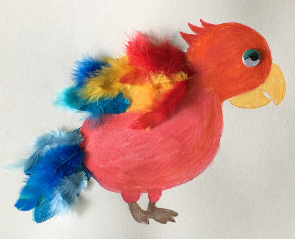 Birds Art and Craft Project with Elizabeth B Martin is Today at the North Beach Public Library!