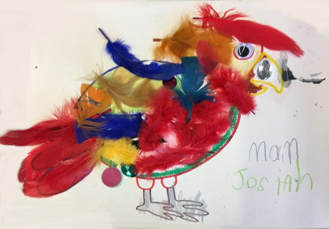 Messy Parrot