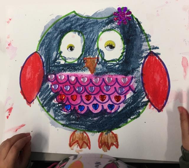 Scribbly Owl