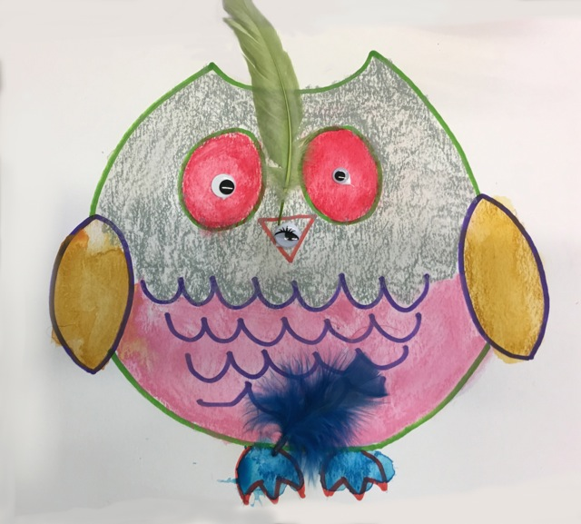 One Feather Owl