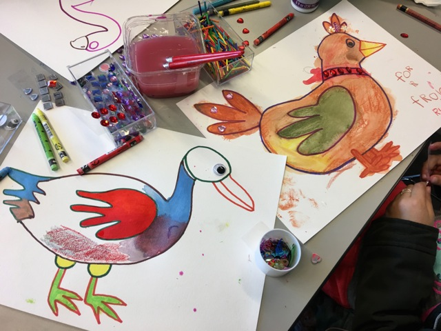 Birds Art and Craft Project 6