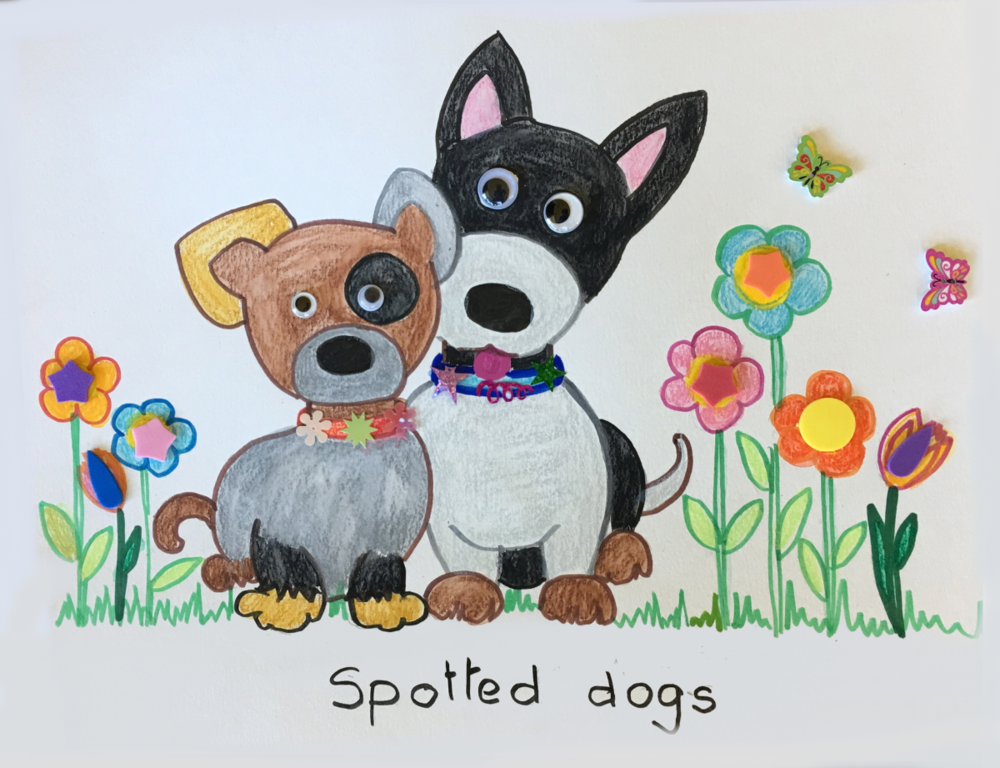 Puppies Art and Craft Project 5