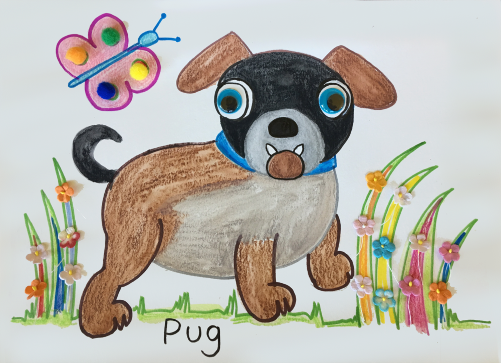 Puppies Art and Craft Project 4