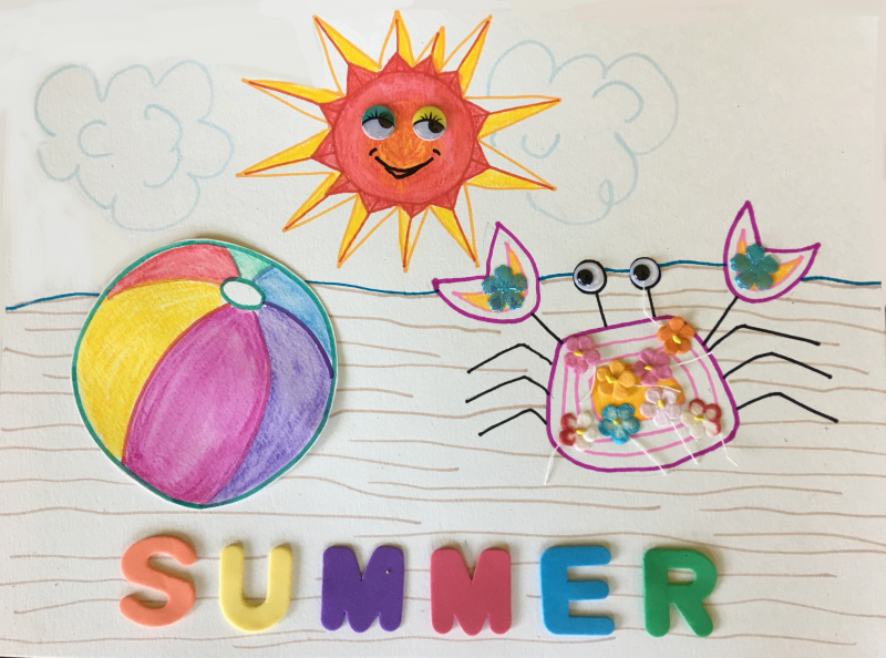 Summer Art and Craft 4